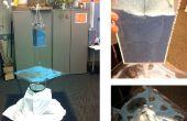 Cymatics artisanat : Un distributeur de sable de détection et vibrant plaque sonore