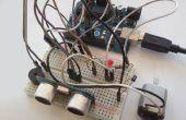 Avoider obstacle capteur ultrasonique HC-SR04