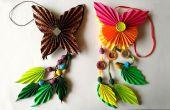 DIY : Comment faire Origami papier papillon Dangler | L'Art du pliage de papier