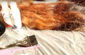 Comment facilement teindre vos cheveux rouge / Bourgogne