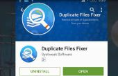 Supprimer les fichiers en double de Android