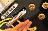 Remplacement d'une chaîne sur une guitare