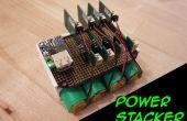 Gerbeur électrique puissance : Système de batterie Rechargeable USB empilable