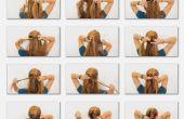 Comment Français tresse vos propres cheveux
