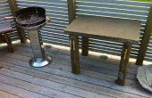 Buffet barbecue béton résistant