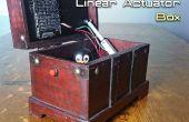 Automatiquement, ouverture / fermeture d'une boîte avec un actionneur linéaire et Arduino