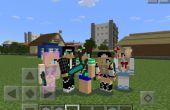 Comment faire votre propre peau de PE de Minecraft !