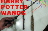 Comment faire des baguettes Harry Potter