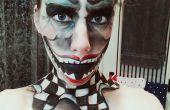 Creeeeeepy Clown visage tutoriel. =D