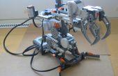 Comment construire un simple bras robotisé de Lego Mindstorms NXT ?
