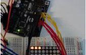 8 x 8 LED Pong avec Arduino