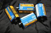 Développer le Film diapositive avec des produits chimiques C-41 AKA E-6(-)