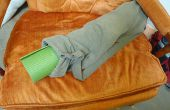Sac à tapis de yoga de pantalons anciens
