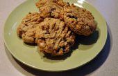 Biscuits aux brisures de chocolat Peanutbutter délicieux