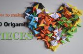 3D Origami pièces
