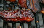 Cinq épices miel BBQ Rib conseils