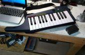 Sans fil MIDI pour Rock Band Keytar
