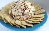 Comment faire une boule de fromage + mes recettes préférées - lard noix de pécan et canneberge amande