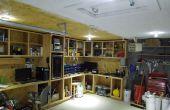 « Hors grille » DC Garage électrique solaire éclairage... Wired dur et entièrement intégré