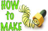 Comment faire une râpe à spirale / PVC HACKS