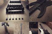 Comment faire pour mettre sur les cordes de guitare par Roasters Inc.