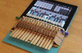 Pince à linge Piano pour iPad