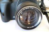 Conversion des lentilles Konica AR pour reflex numérique Olympus