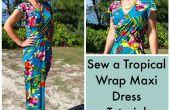 Comment faire cette robe maxi