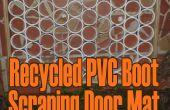 Recyclé botte PVC paillasson à récurer