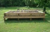Comment faire un lit surélevé jardin
