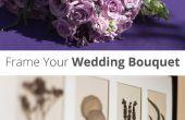 Cadrer votre Bouquet de mariage