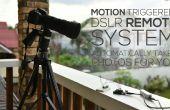 Mouvement déclenché DSLR système distant