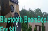 USB Bluetooth BoomBox pour 4 $!