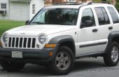 Jeep Liberty toit Rails On The Cheap