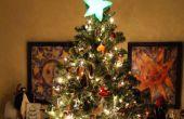 Étoile de Noël changeant de couleur