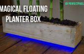 Boîte de planteur flottant magique