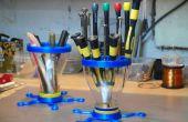 Outils organisateur - fabriqué avec des pièces 3d et entonnoirs de JO