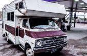 Tourner un RV dans A Cube Van