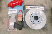 Plaquettes de frein, Rotor, du disque et étrier de remplacement