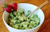 Poulet salade verte