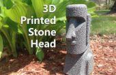 3D imprimé tête de Pierre