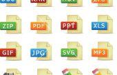 Procédure pour changer fichier Extension dans windows 7 pour ouvrir dans un autre programme