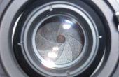 Fixation d'un diaphragme de lentille Focus manuel (avec une bande de caoutchouc)