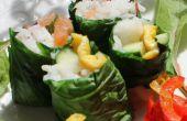 Sushi Seaweedless bio - croître vos propres sushis encapsule des feuilles comestibles, facile à cultiver.