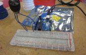 En utilisant l'Arduino Basics - potentiomètres - je l'ai fait à TechShop