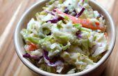 Salade de chou épicé du Sud