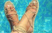 Une espadrille, plus de 20 sandales