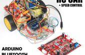 Vitesse contrôlée RC voiture moyen (4 CH moteur Driver contrôleur + Arduino + Bluetooth)