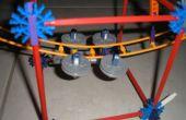 Voiture personnalisée coaster Knex pour mini piste