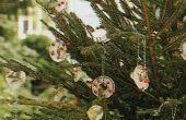 Ornements d'arbre de Noël pas cher 'facile ' glacial ' n plein air